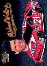 1997 Ultra Update Autographs #15 Michael Waltrip