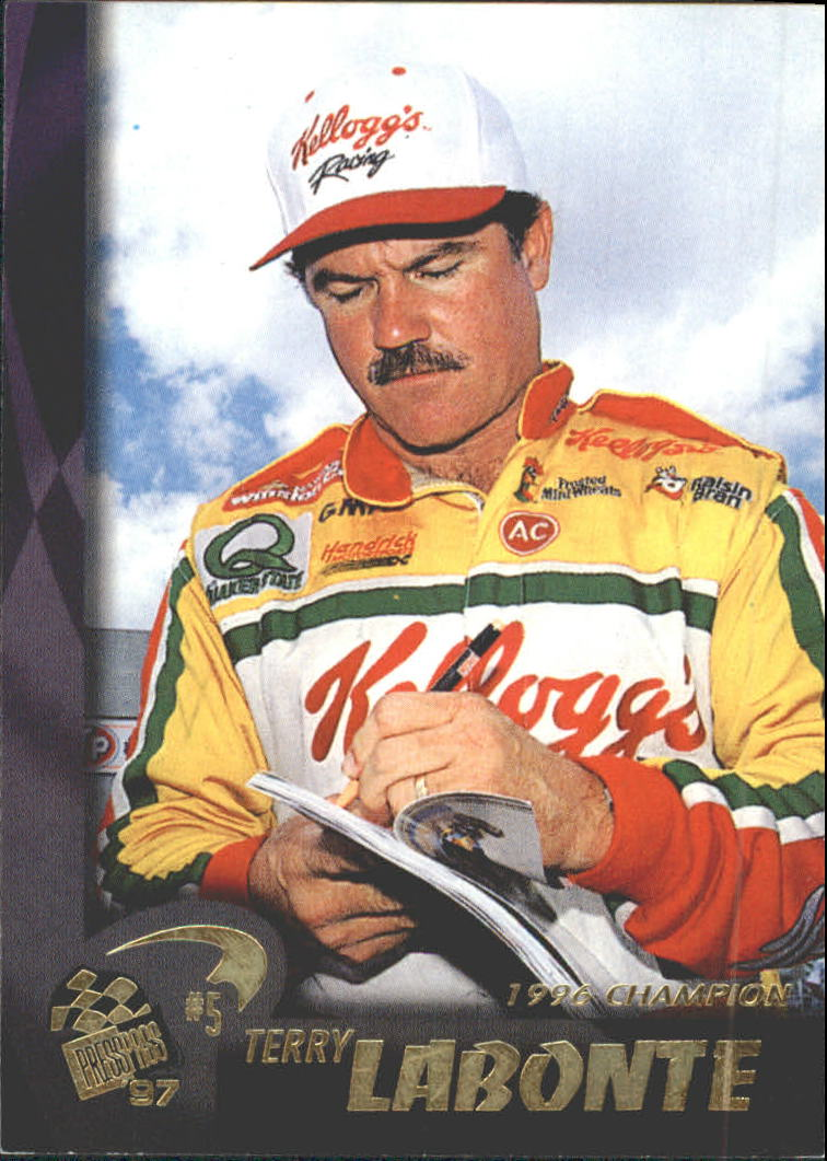 1997 Press Pass #1 Terry Labonte