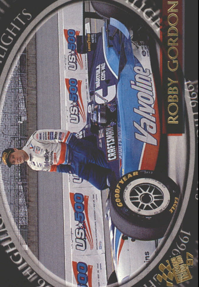 1997 Press Pass #91 Robby Gordon RC