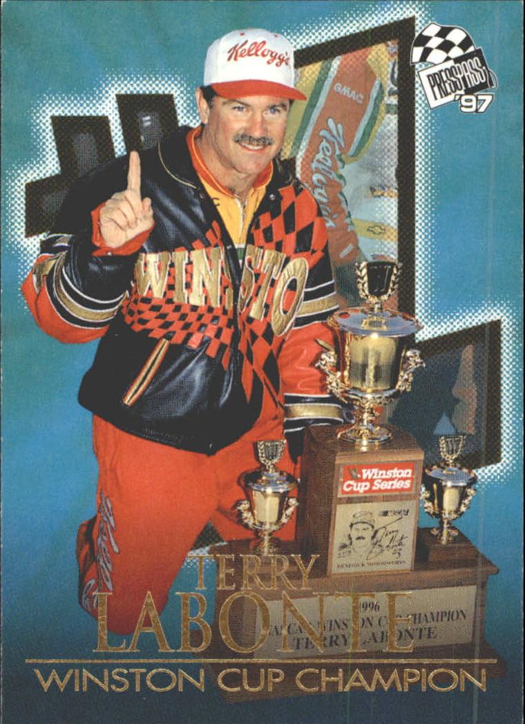 1997 Press Pass #110 Terry Labonte