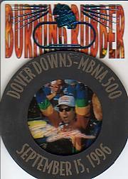 1997 Press Pass Burning Rubber #BR5 Jeff Gordon