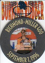 1997 Press Pass Burning Rubber #BR6 Ernie Irvan
