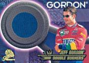 1997 Press Pass Premium Double Burners #DB2 Jeff Gordon