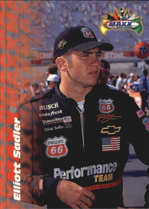 1997 Maxx #45 Elliott Sadler RC