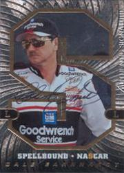 1997 Pinnacle Spellbound Autographs #3S Dale Earnhardt