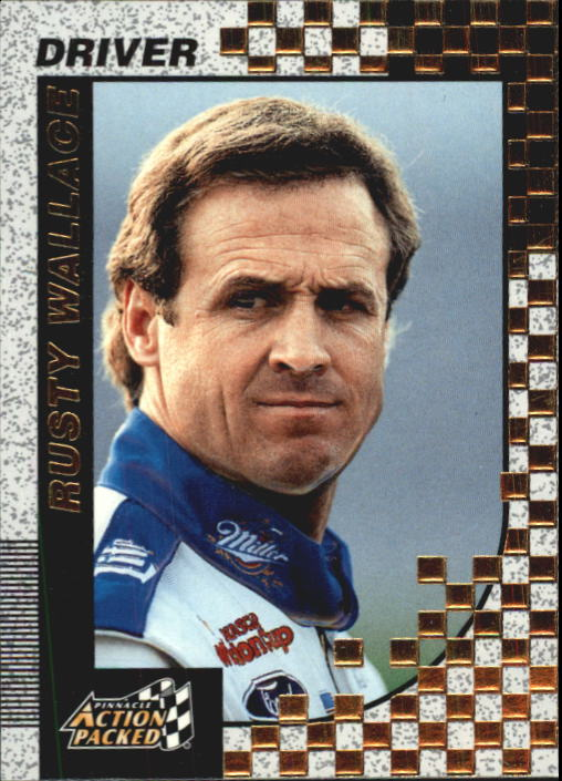 1997 Action Packed #2 Rusty Wallace