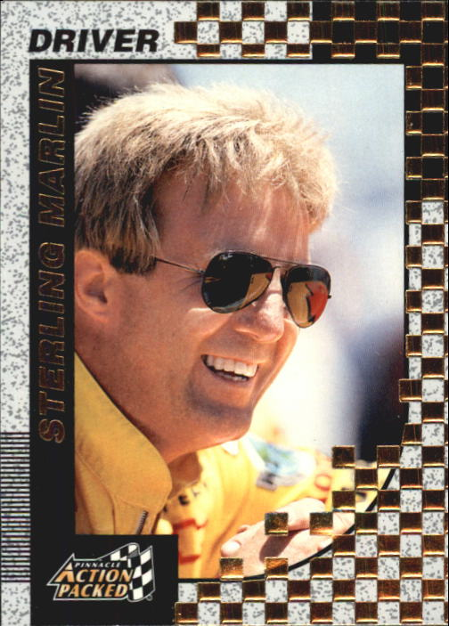 1997 Action Packed #4 Sterling Marlin