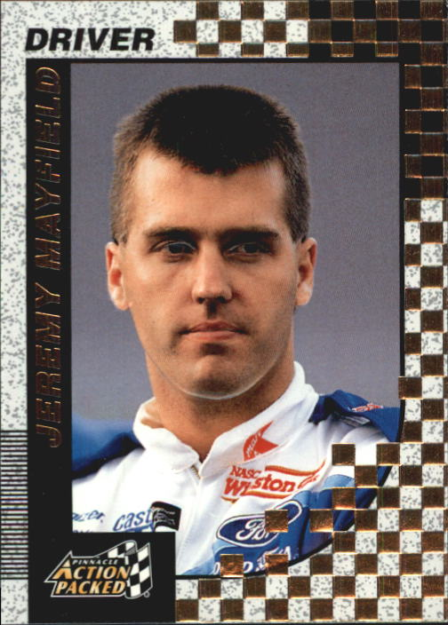 1997 Action Packed #7 Jeremy Mayfield
