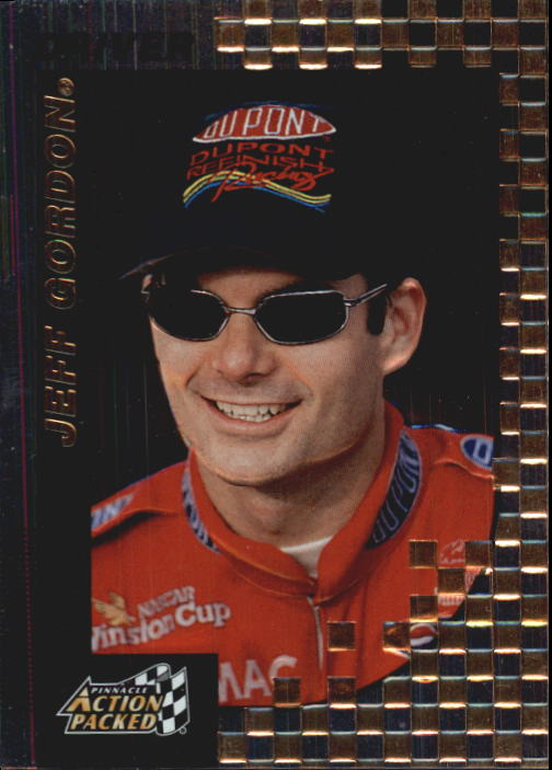 1997 Action Packed #8 Jeff Gordon