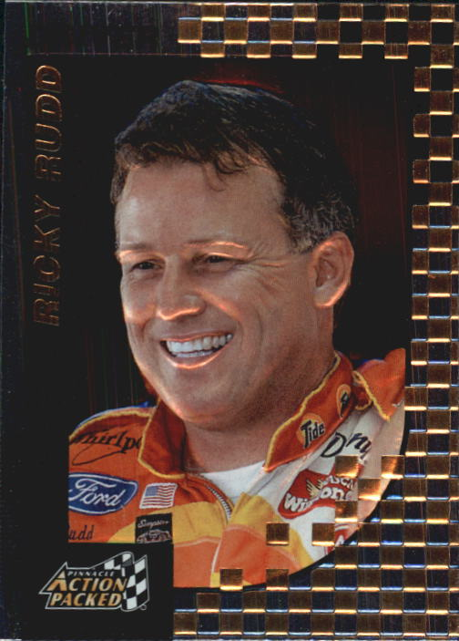 1997 Action Packed #10 Ricky Rudd
