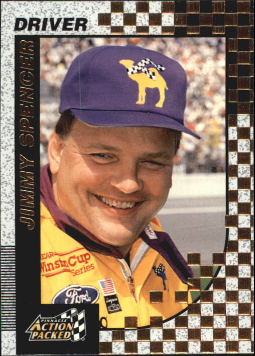 1997 Action Packed #12 Jimmy Spencer