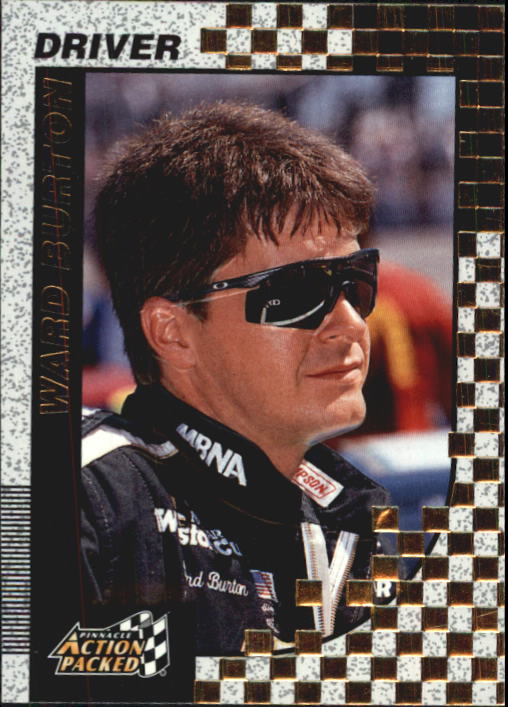 1997 Action Packed #14 Ward Burton