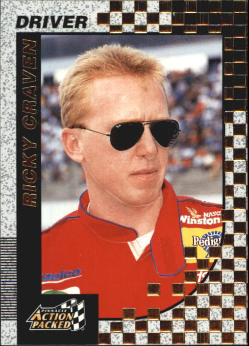 1997 Action Packed #25 Ricky Craven