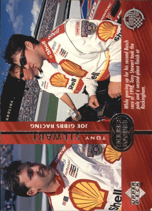 1998 Upper Deck Road To The Cup #115 Tony Stewart RC