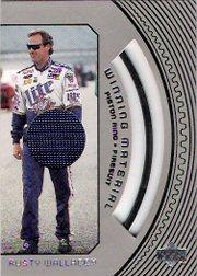 1998 Upper Deck Road To The Cup Winning Materials #W1 Rusty Wallace