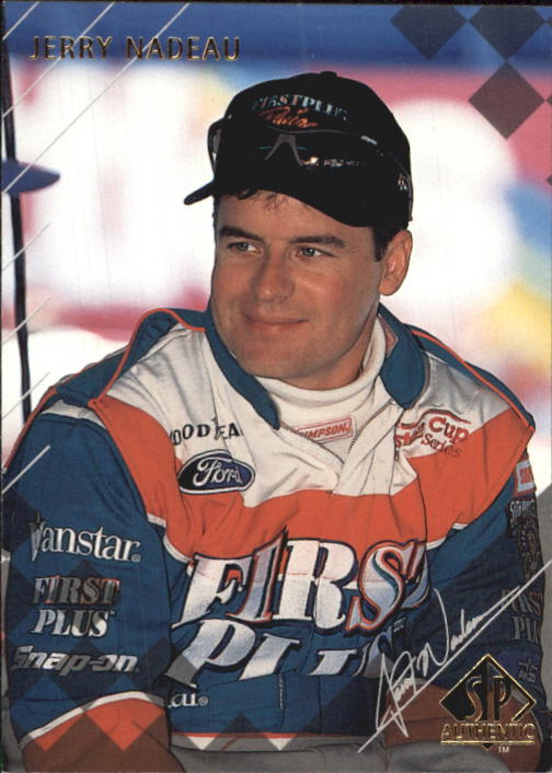 1998 SP Authentic #13 Jerry Nadeau RC