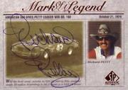 1998 SP Authentic Mark of a Legend #M1 Richard Petty/220