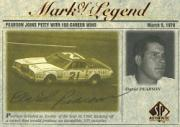 1998 SP Authentic Mark of a Legend #M2 David Pearson