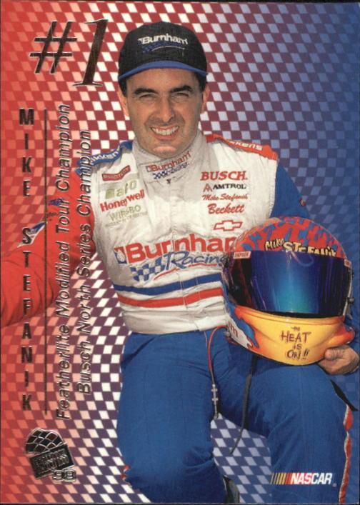 1998 Press Pass #84 Mike Stefanik RC