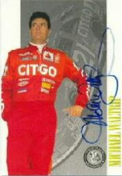 1998 Press Pass Autographs #9 Michael Waltrip/285