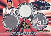 1998 Press Pass Premium Triple Gear Firesuit #TGF2 Dale Earnhardt