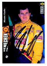 1998 Autograph Session Card #3 Joe Nemechek '97 Col. Cho.