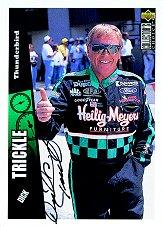 1998 Autograph Session Card #6 Dick Trickle '97 Col. Cho.