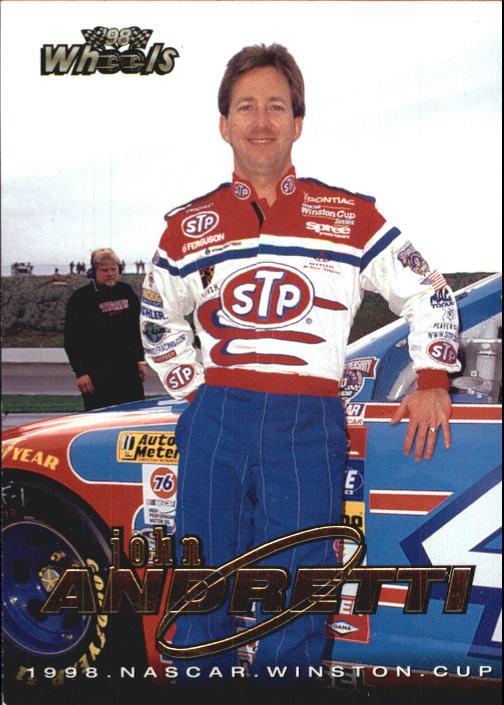 1998 Wheels #1 John Andretti