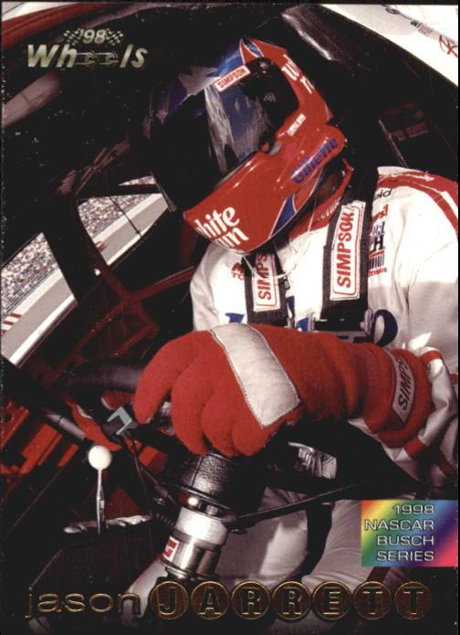 1998 Wheels #50 Jason Jarrett RC