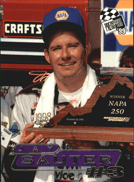 1999 Press Pass #56 Jay Sauter ST RC