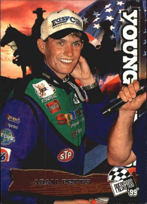 1999 Press Pass #63 Adam Petty YG RC