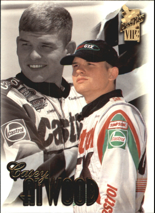 1999 VIP #28 Casey Atwood RC