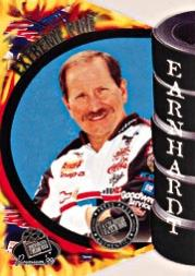 1999 Press Pass Premium Extreme Fire #FD2A Dale Earnhardt 1:192