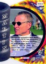 1999 Press Pass Premium Extreme Fire #FD4A Mark Martin 1:72 back image