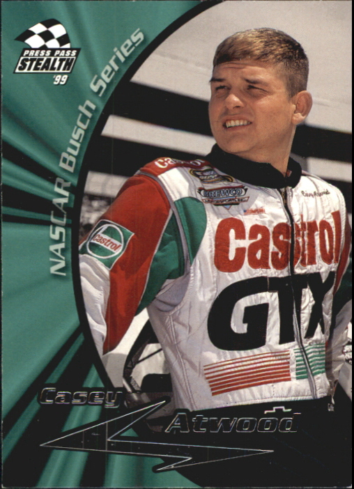 1999 Press Pass Stealth #37 Casey Atwood RC