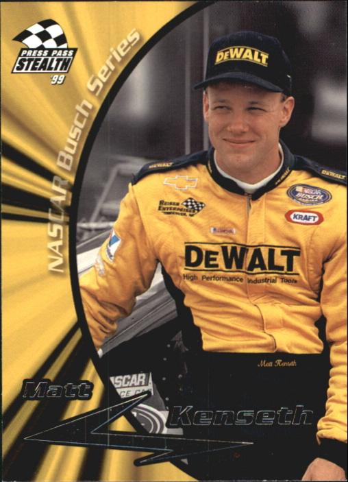 1999 Press Pass Stealth #43 Matt Kenseth RC