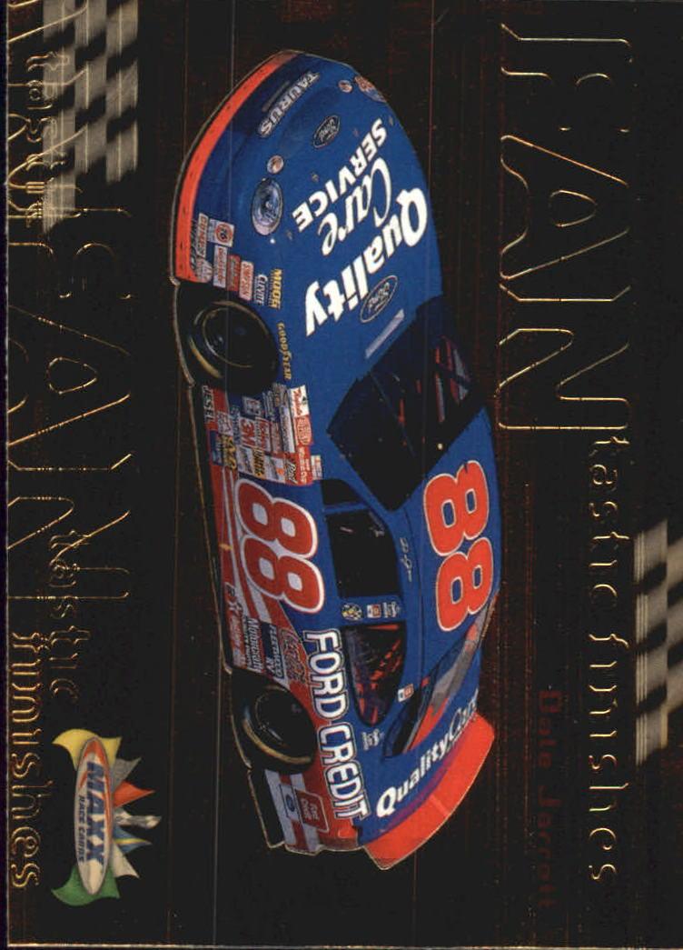1999 Maxx FANtastic Finishes #F9 Dale Jarrett's Car