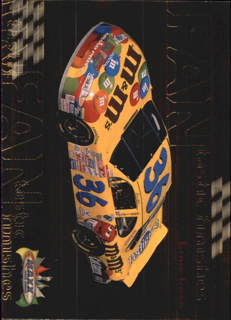 1999 Maxx FANtastic Finishes #F13 Ernie Irvan's Car