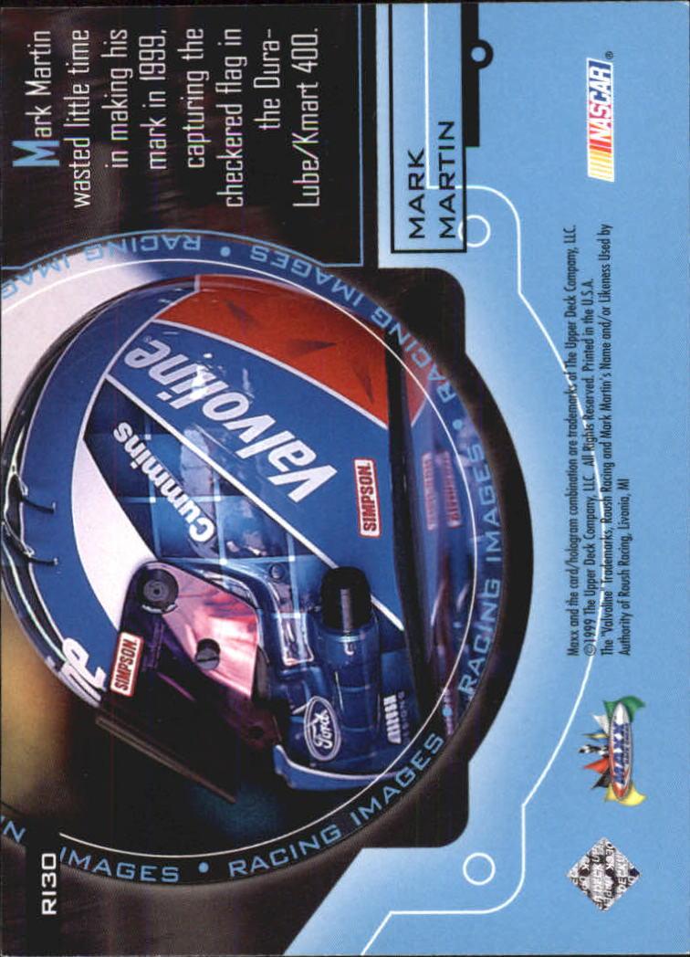1999 Maxx Racing Images #RI30 Mark Martin back image