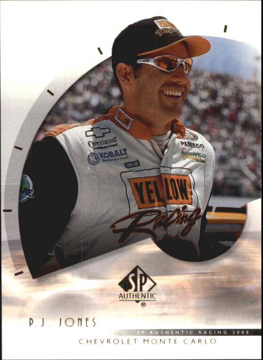 2000 SP Authentic #25 P.J. Jones