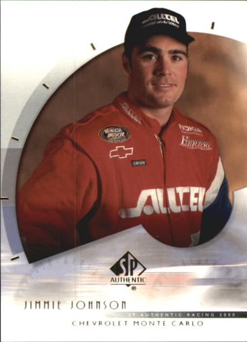 2000 SP Authentic #39 Jimmie Johnson RC