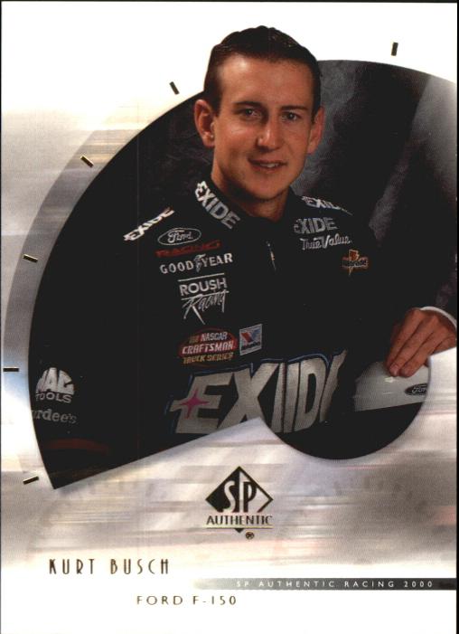 2000 SP Authentic #40 Kurt Busch RC