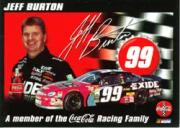 2000 Coca-Cola Racing Family #1 Jeff Burton