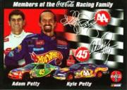 2000 Coca-Cola Racing Family #13 A.Petty/K.Petty
