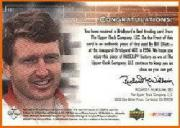 2000 Upper Deck Racing Brickyard's Best #BB3 Bill Elliott back image