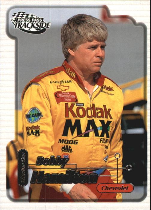 2000 Press Pass Trackside #3 Bobby Hamilton