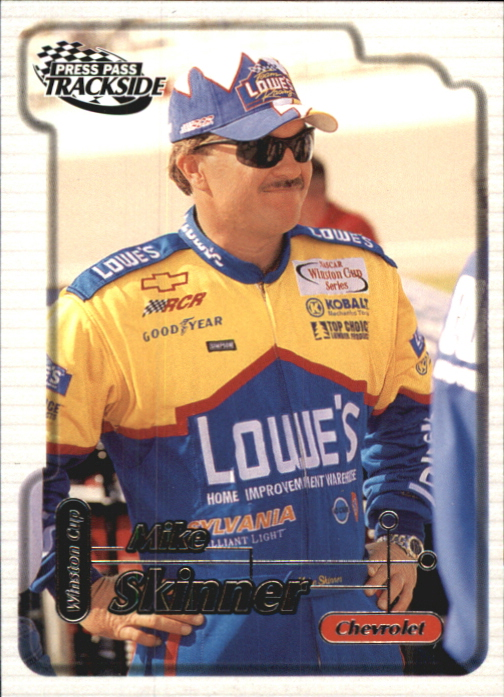 2000 Press Pass Trackside #9 Mike Skinner