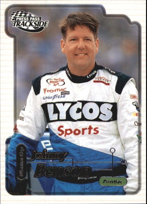 2000 Press Pass Trackside #16 Johnny Benson Jr.