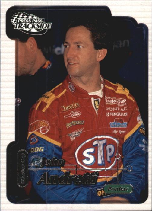 2000 Press Pass Trackside #17 John Andretti