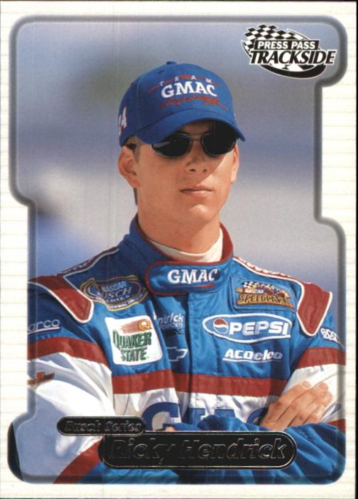 2000 Press Pass Trackside #41 Ricky Hendrick BGN RC